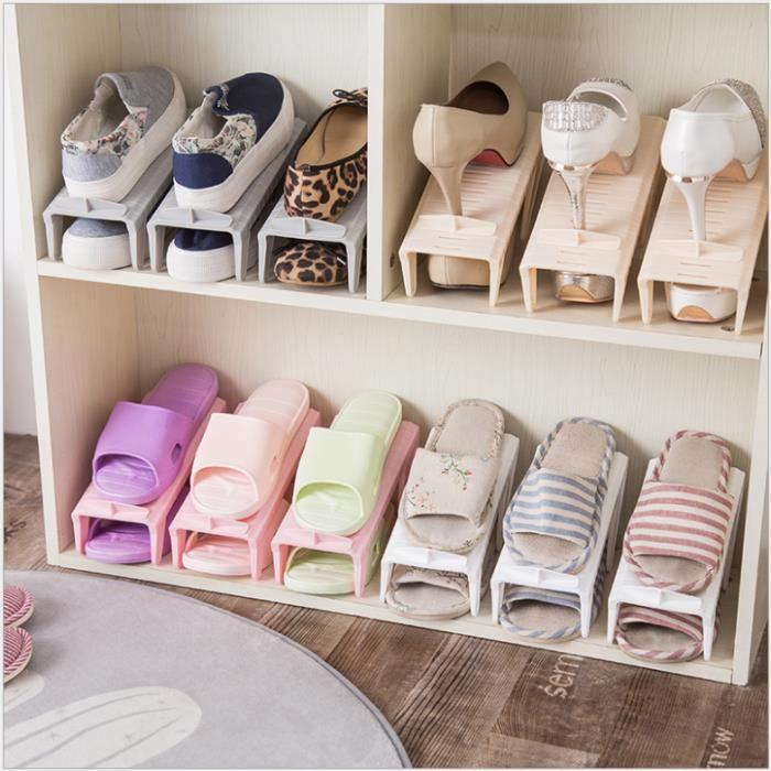 mini etag re rangement chaussure original mati re plastique couleur al atoire beige votre. Black Bedroom Furniture Sets. Home Design Ideas