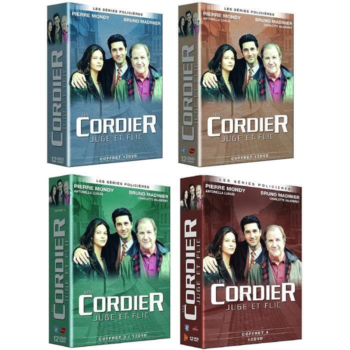 DVD SÉRIE Les Cordier Juge et Flics - Integrale des Coffrets