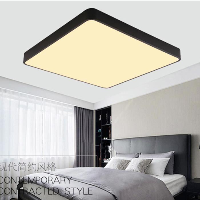 Incroyable Chambre à Coucher Mince Simple Moderne De Lumière De Chambre à Coucher A  Mené La Lampe De Plafond (lumière De Couleur Double)