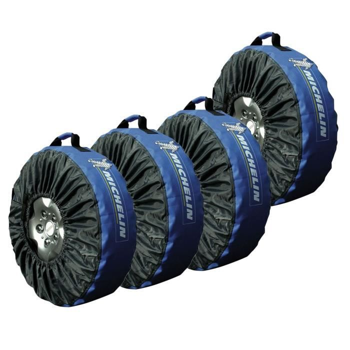 michelin lot de 4 housses pneus dont 1 offerte