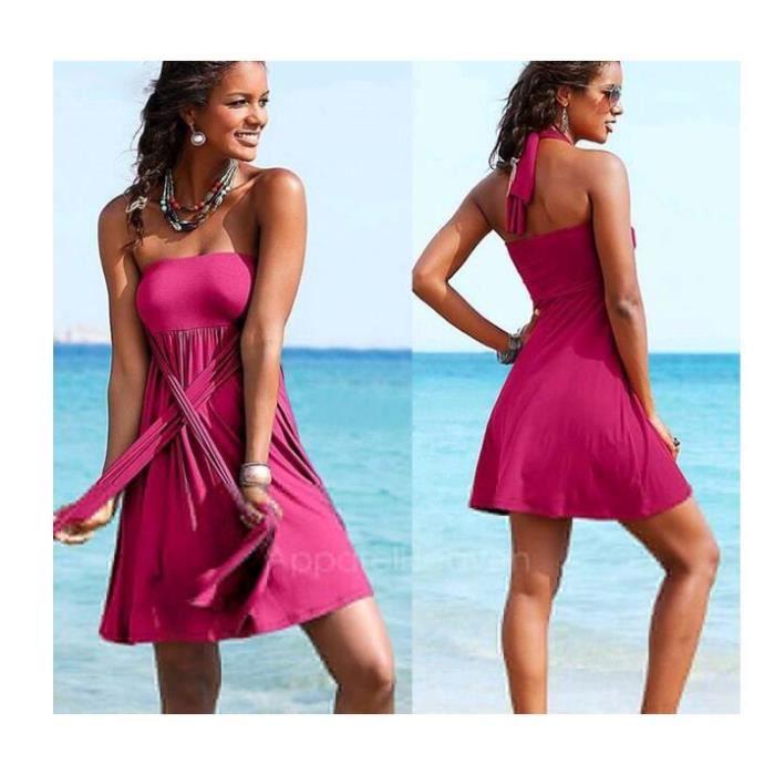 couvrir enveloppé Summer Sexy jusquà robe de vacances Womens Beach bikini bain poitrine YqgpIp5