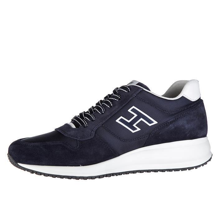 Chaussures baskets sneakers homme en daim interactive n20 Hogan 30m2uajo