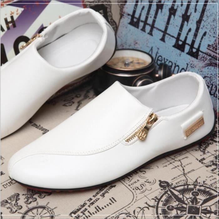 Moccasins hommes 2017 marque de luxe chaussure Grande Taille Qualité Supérieure homme Moccasin cuir Confortable Respirant