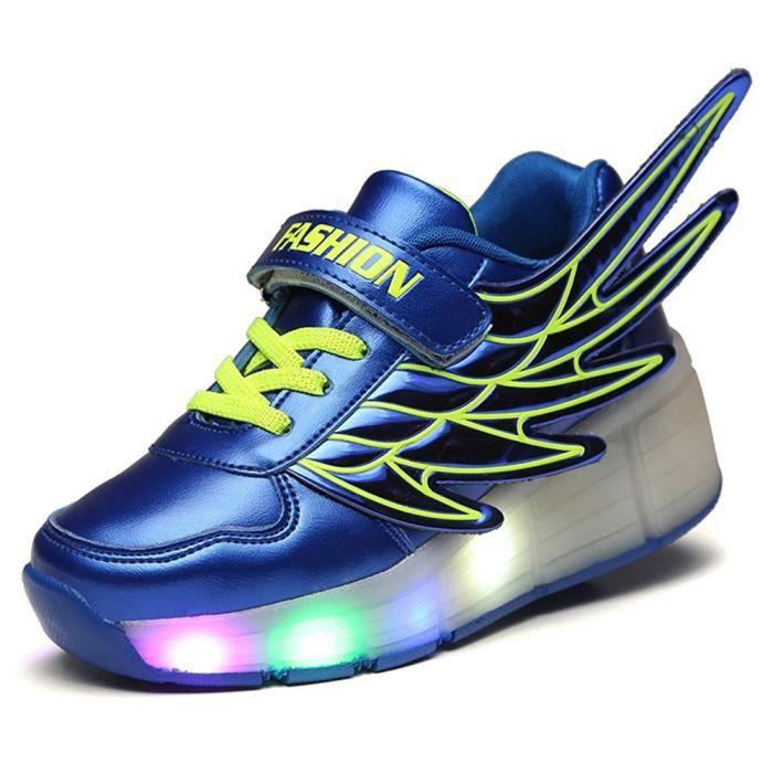 Basket Les filles des garçons allument des chaussures de