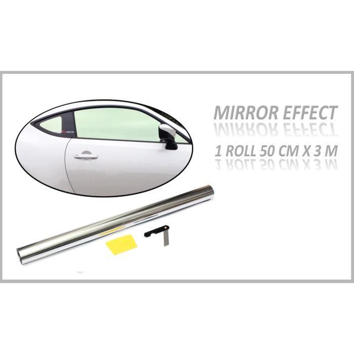 film teinte pour vitre solaire argent effet miroir achat vente pare soleil film teinte pour. Black Bedroom Furniture Sets. Home Design Ideas