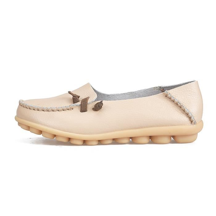 Comfort Walking Cute Flat Loafer QRKTC Taille-36