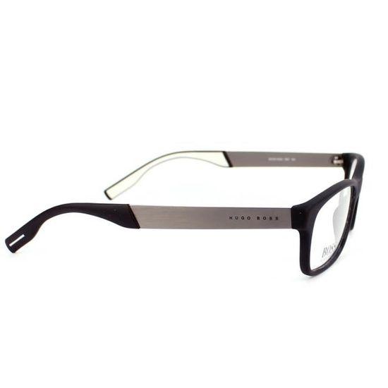 11a0fe2c948 Lunettes de vue Hugo Boss BOSS 0550 -HD1 Noir mat - Gunmetal brossé Noir -  Achat   Vente lunettes de vue Lunettes de vue Hugo Boss... Homme - Cdiscoun