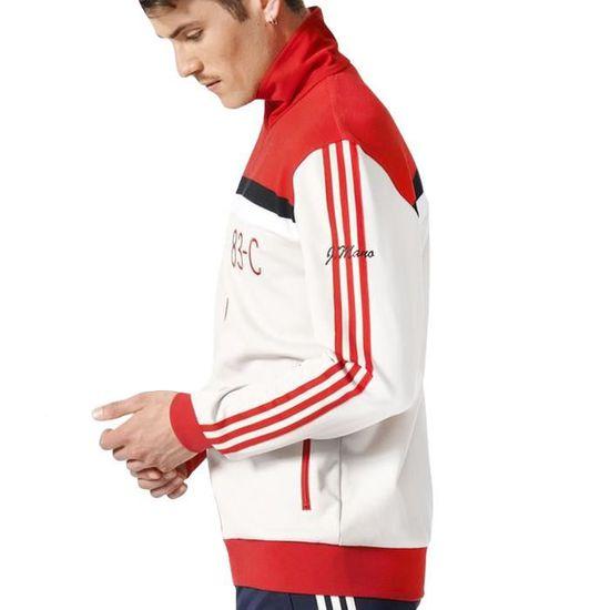 Adidas 83-C - veste de survêtement homme - blanc Blanc Blanc - Achat    Vente survêtement - Cdiscount 80fded2930d