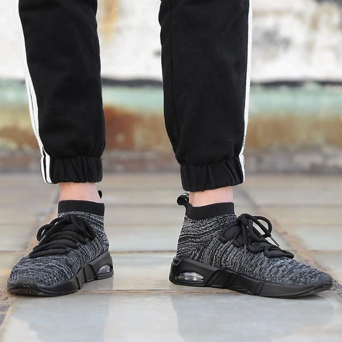 Garçon gris De Chaussures gris gris Marche Sport Mode Gris Baskets Homme Sneakers zq1X5X