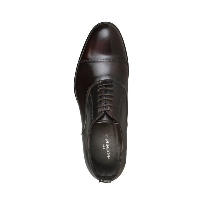 Made in Italia - Chaussures à lacet pour homme (MAURO_MORO) - Brun