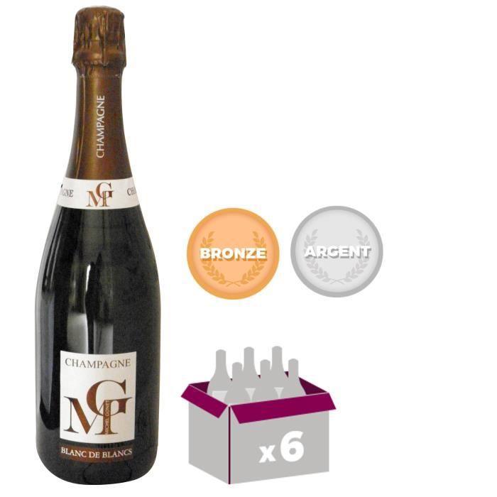 Michel gonet 2009 champagne brut blanc de blancs 75 cl x 6