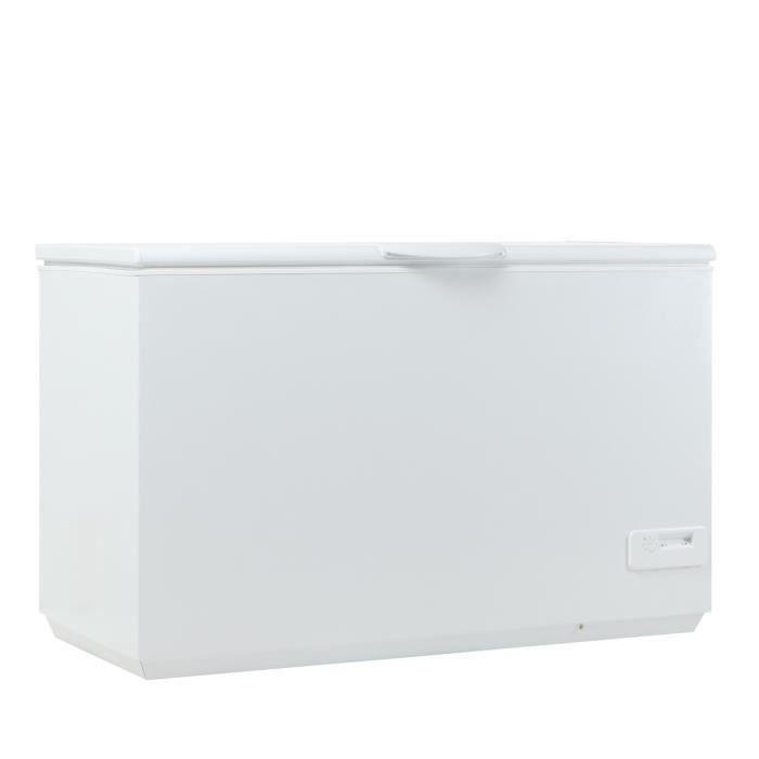 CONTINENTAL EDISON CC400AP - Congélateur coffre - 40L - Froid statique - A+ - L 133cm x H 87cm - Blanc