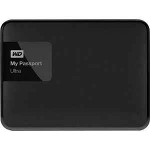 WESTERN DIGITAL Disque dur externe 2.5'' My Passport Ultra - 1To - Noir - Reconditioné ? neuf
