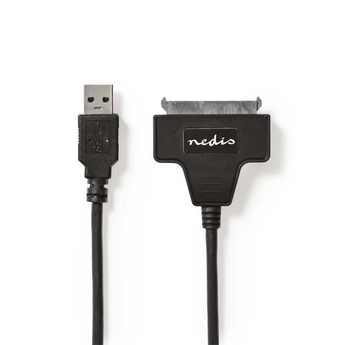 NEDIS Adaptateur pour Disque Dur - USB 3.0 - SATA - pour les disques durs 2,5\
