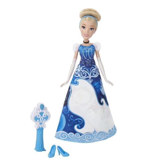 Poupée Cendrillon de 30 cm avec robe magique ! - Fille - 3 ans - Vendu à l'unitéPOUPEE