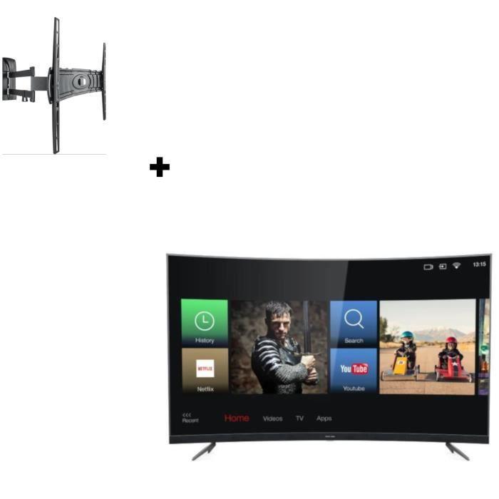 THOMSON 55UZ6096 TV LED UHD 4K + MELICONI Curved 400DR