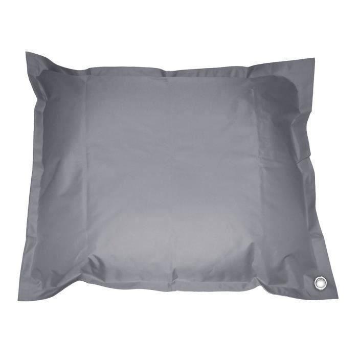 Coussin Pouf imperméable de piscine pool bag XXL 140 x180 cm gris