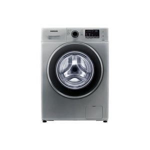 SAMSUNG WW80J3280GS - Lave linge frontal 8kg - 1200 tours / min - A+++ - Display digital LED bleues - Tambour Crystal Care - Silver