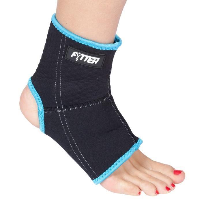 FYTTER Ankle support breathable AAS0LB pour la fixation de la cheville pendant l'exercice.