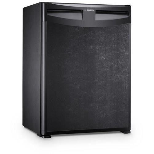 Mini réfrigérateur - 30 L - Froid statique - D - L 38,4 x H 52,2 cm - Dégivrage automatique - Réglage de la température par bouton thermostat - NoirARMOIRE A BOISSON - MINI-BAR