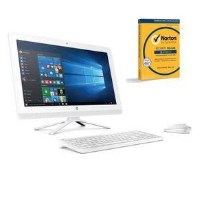 HP PC Tout en un - 22b000nf - Blanc - 21,5\