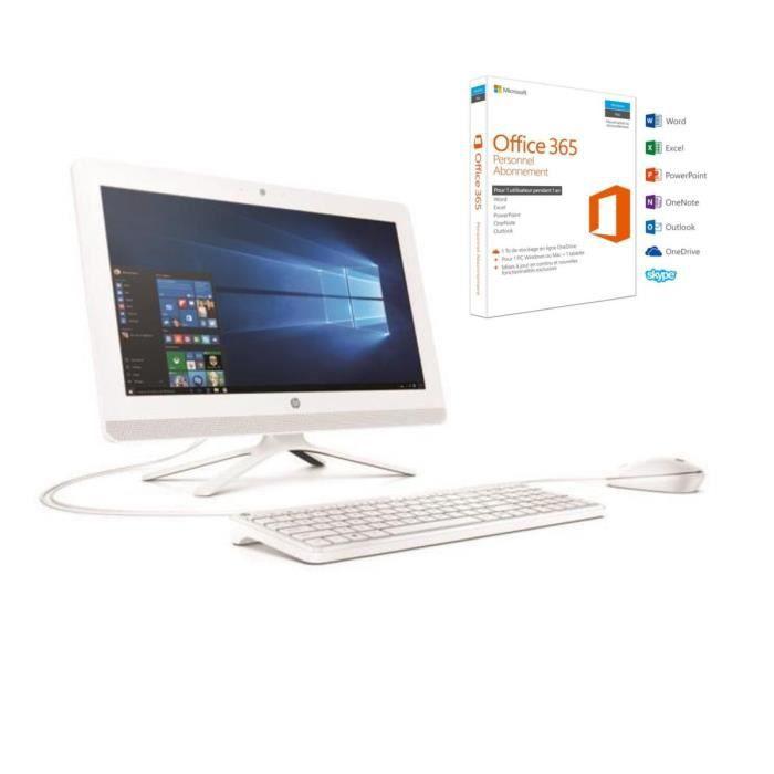 HP PC Tout-en-un - 20\