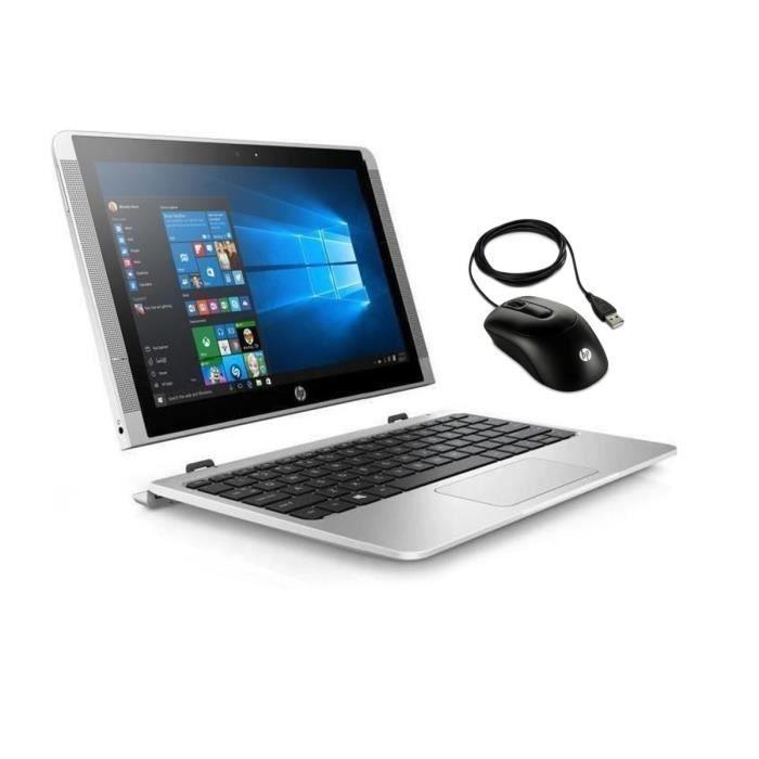 "HP PC 2 en 1 - 10p020nf - 10.1"" - 2 Go de RAM - Windows 10 - Intel Atom x5-Z8350 - Intel HD 400"