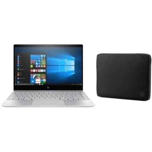 HP PC ENVY-13ad000nf- 8 Go de RAM - Windows 10 - Intel Core i5-7200 - Intel HD 620- Disque dur SSD 256 Go + Housse