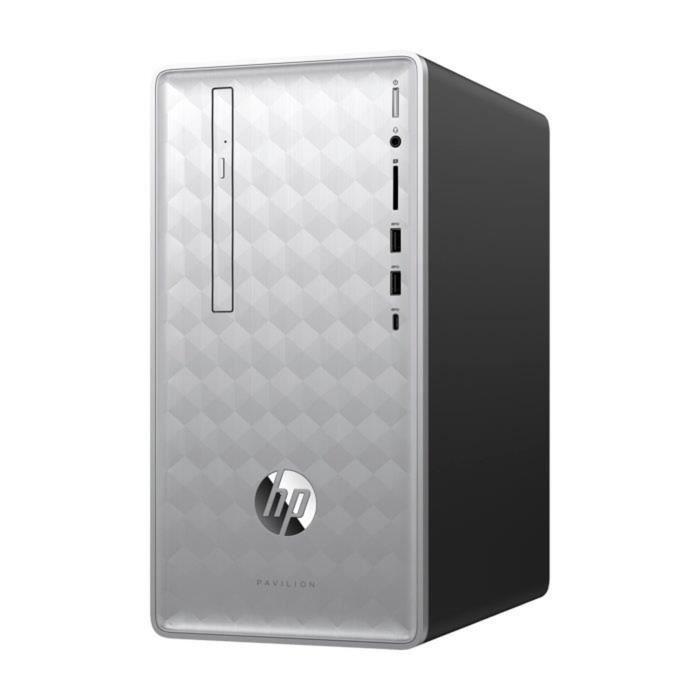 Unité Centrale - HP Pavilion 590-p0050nf - Core i7-8700 - 16Go de RAM - Disque Dur 2To + 128Go SSD - AMD Radeon RX 550 - Windows 10