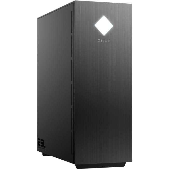 OMEN by HP PC Bureau Gaming GT11-0060nf - Intel® Core™ i5-10400 - RAM 8Go - Stockage 256Go SSD + 1To
