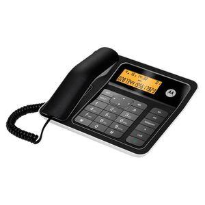 Motorola CT330 Téléphone Filaire Sans Répondeur Noir
