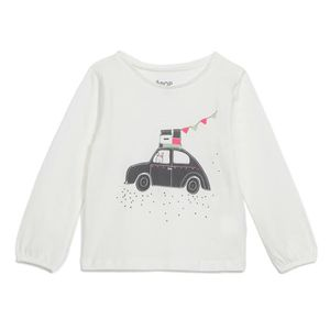 EPOP Tee shirt manches longues Jersey Print - Off White