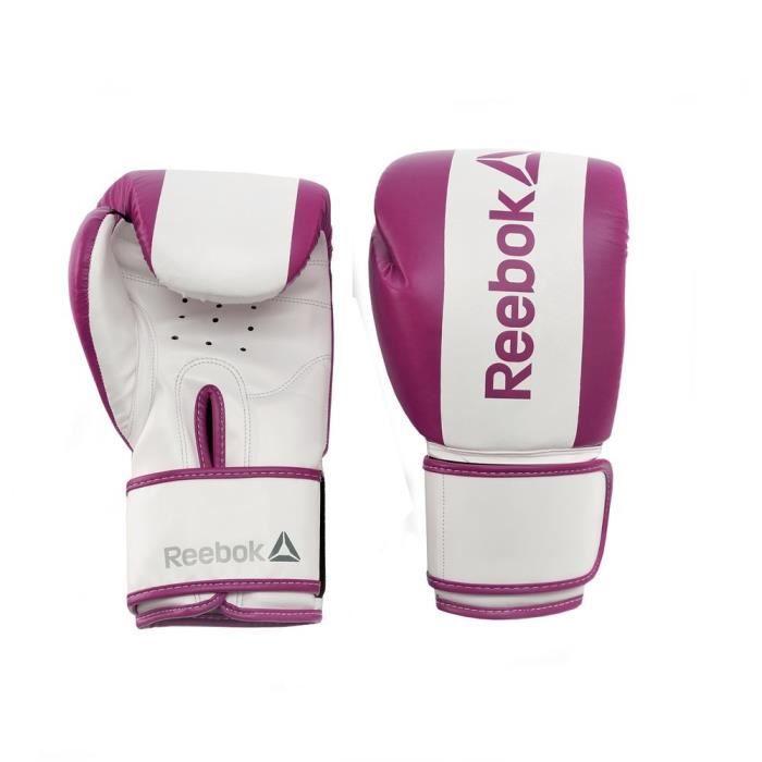 REEBOK Gants de boxe - 10 oz - Violet