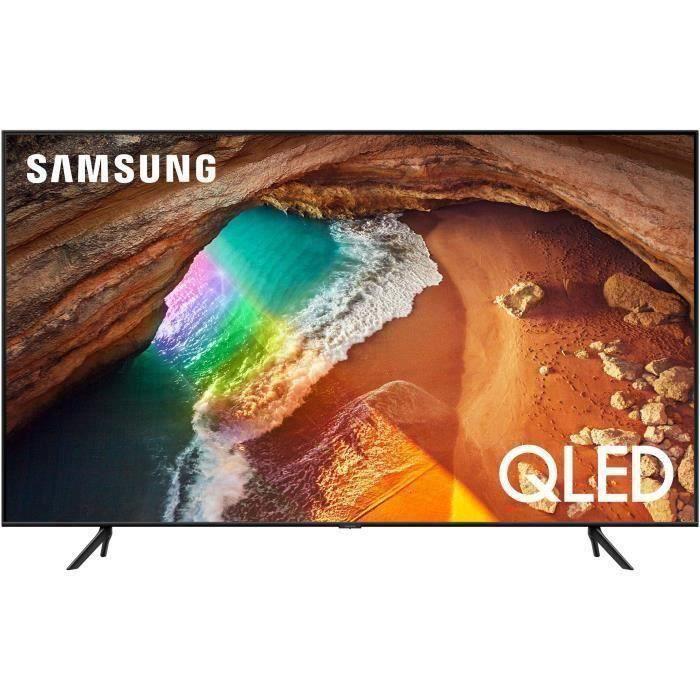 """Plus de détails Samsung QE50Q6 - TV QLED UHD 4K - 50"""" (125cm) - Smart TV - 3XHDMI - 2XUSB - Classe énergétique"""
