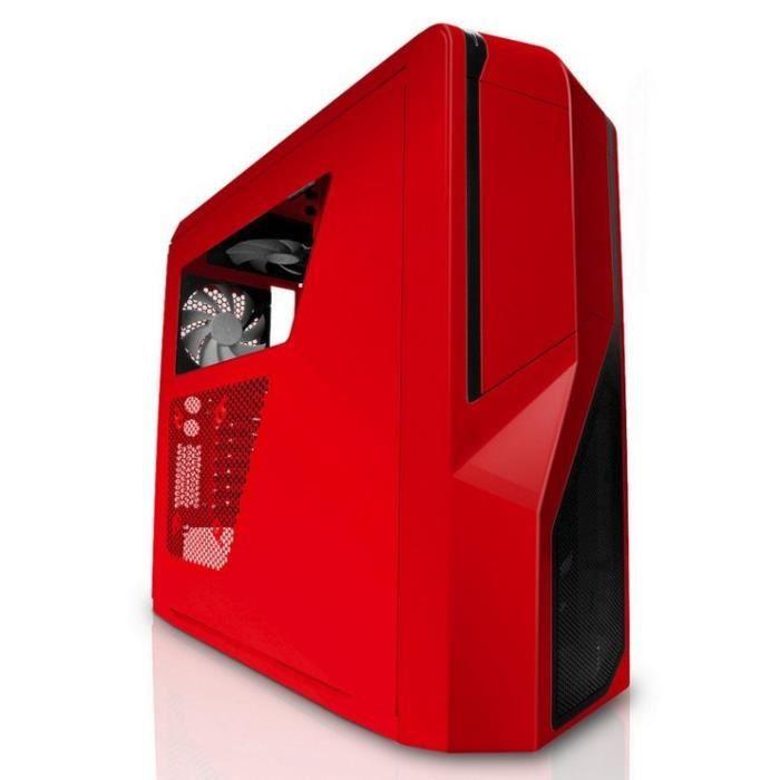 NZXT Boîtier PC Phantom 410 - Rouge