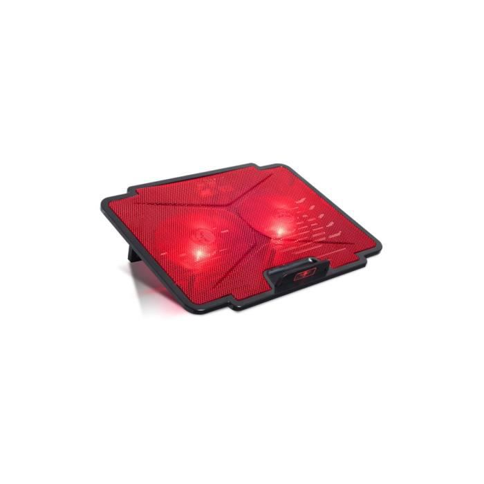 Spirit Of Gamer Refroidisseur PC AirBlade 100 Red - 15.6\