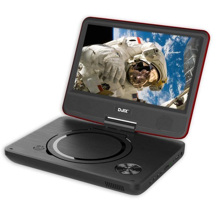 D-JIX PVS 906-20 Lecteur DVD portable 9\
