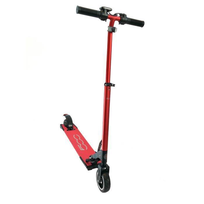 Trottinette électrique FIAT 500 5,5'' - F500-F55R - 350W - Rouge