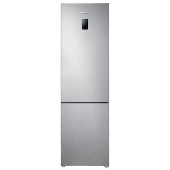 SAMSUNG RB3EJ5200SA - Réfrigérateur congélateur bas - 357L (253+104) - Froid ventilé - A+ - L 59,5cm
