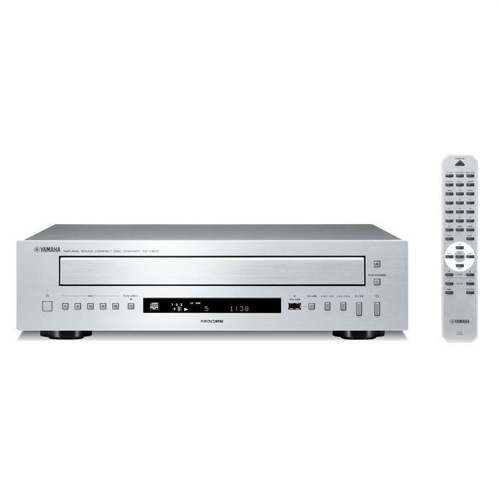YAMAHA CD-C600 Lecteur CD changeur 5 disques - Silver