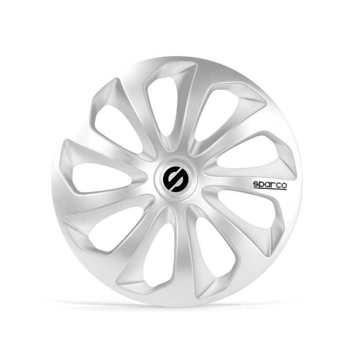 SPARCO 4 Enjoliveurs de roues - Sicilia - SPC1470SV - 14\