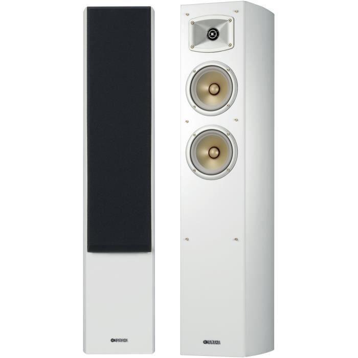 YAMAHA NS-F330 Enceintes colonnes (la paire) - Blanc