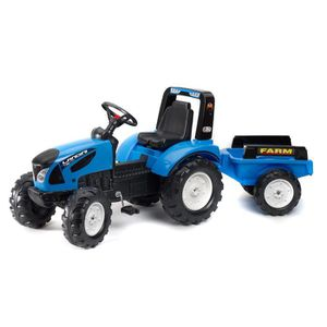 TRACTEUR - CHANTIER LANDINI Tracteur Série 7 avec remorque