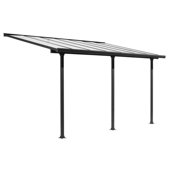 carport adosser achat vente carport adosser pas cher cdiscount. Black Bedroom Furniture Sets. Home Design Ideas