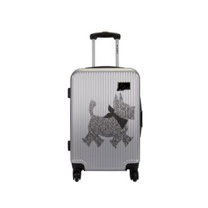 VALISE - BAGAGE CHIPIE Valise Trolley ABS 4 Roues SRX 70 cm Argent