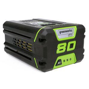 ALIMENTATION DE JARDIN GREENWORKS TOOLS Batterie Li-lon - 80 V - 2 Ah