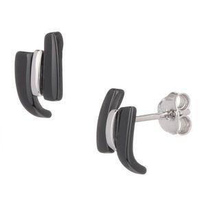 Boucle d'oreille CERALUXE Boucles d'Oreilles Argent 925° Céramique