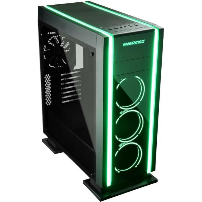 BOITIER PC  ENERMAX Saberay boitier gaming ATX, Support RGB-sy