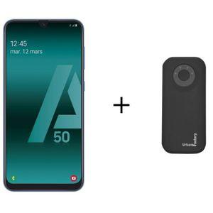 SMARTPHONE Galaxy A50 Bleu + Batterie Externe