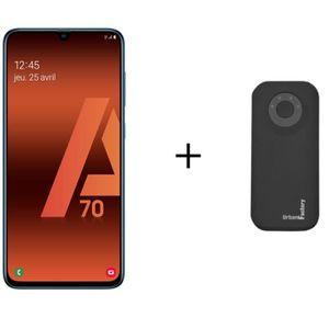 SMARTPHONE Galaxy A70 Bleu + Batterie Externe